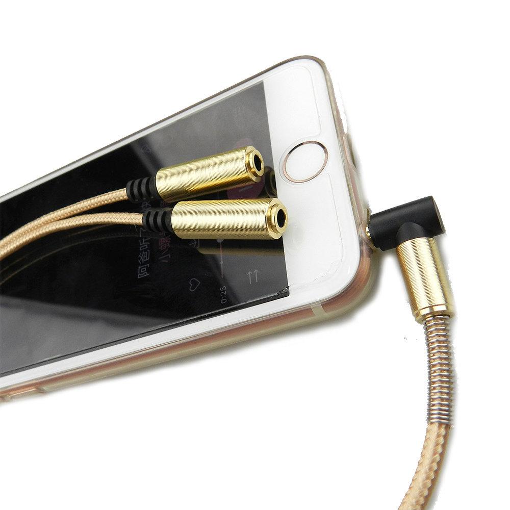 Câble AUX Splitter 3.5 mm - 11