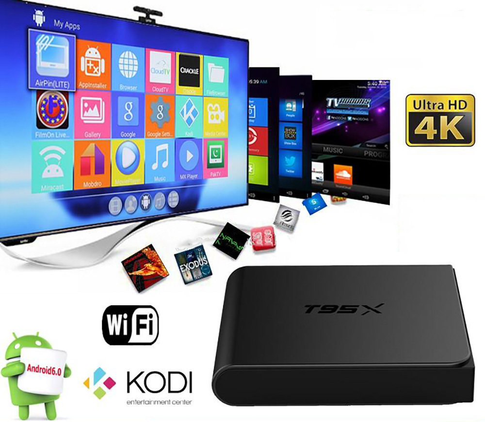 Mini TV Box T95X - 12