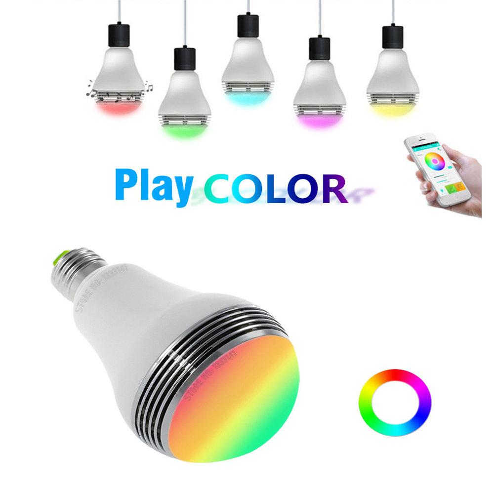 Ampoule Bluetooth haut-Parleur avec application sur smartphone - 11