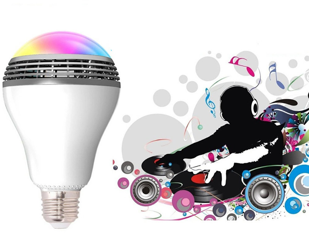 Ampoule Bluetooth haut-Parleur avec application sur smartphone - 12