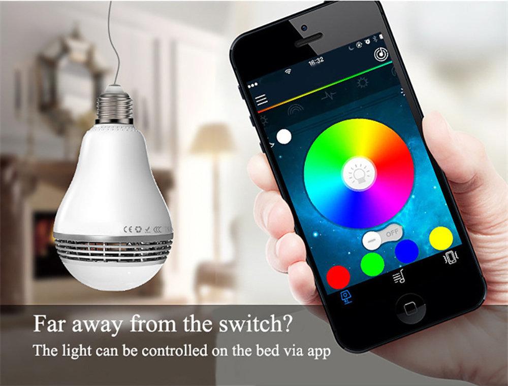 Ampoule Bluetooth haut-Parleur avec application sur smartphone - 14