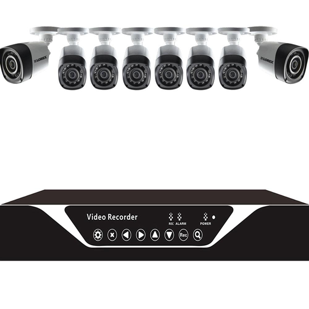 XVR2208D pour 8 cameras de sécurité 12