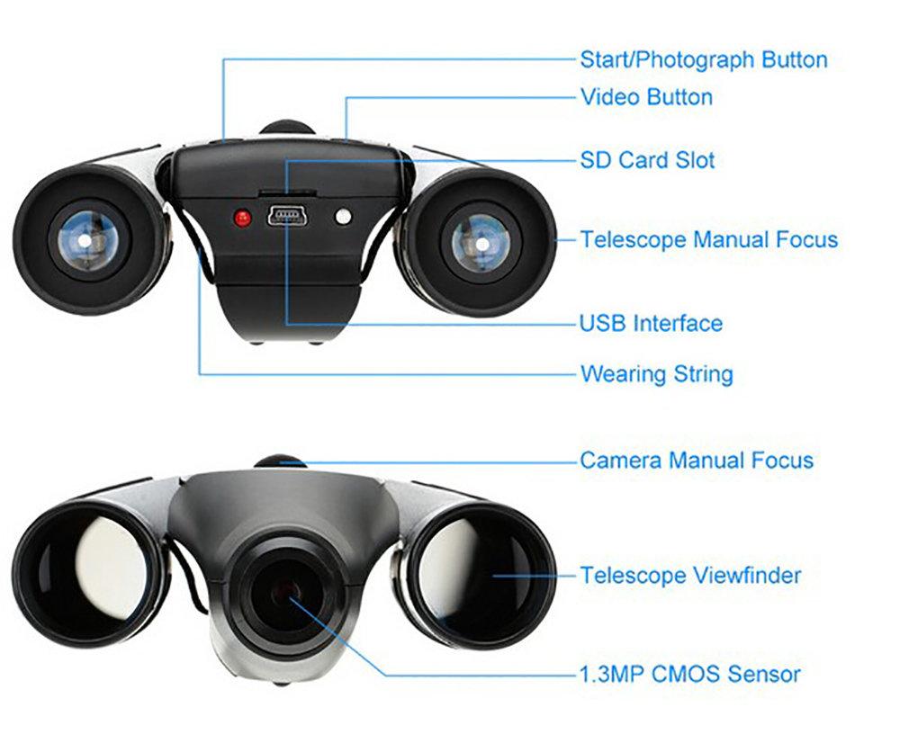 Jumelle caméra numérique DT08 - 13