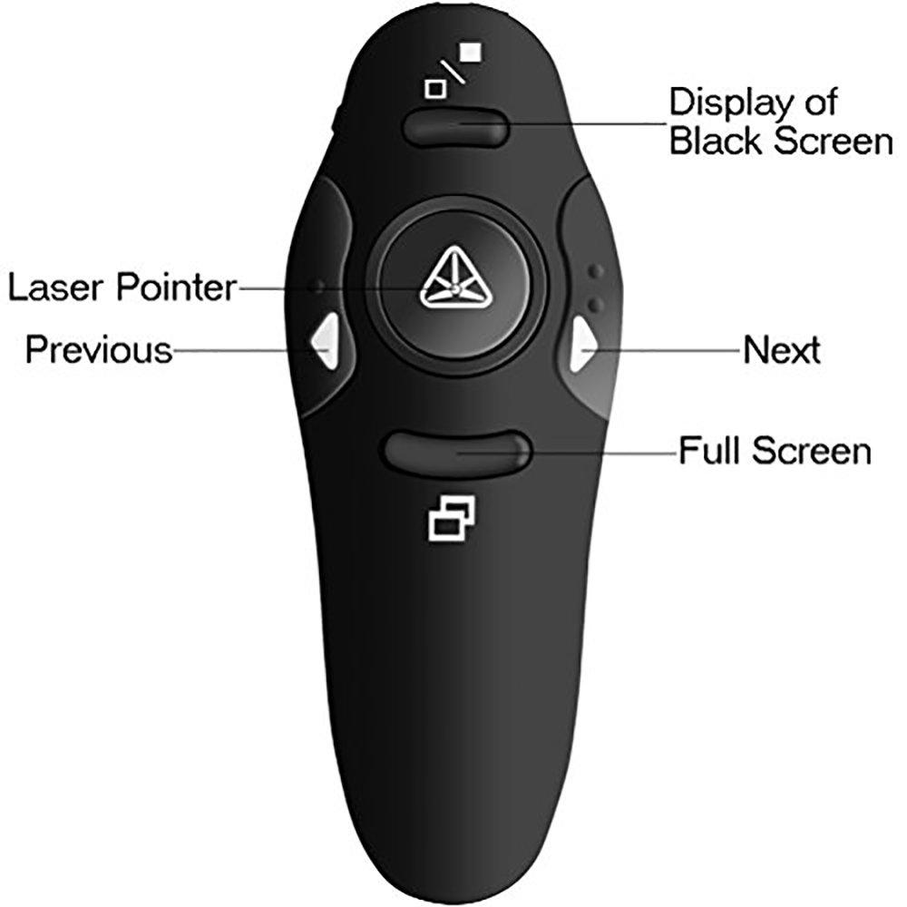 Pointeur laser sans fil pour les présentations 14
