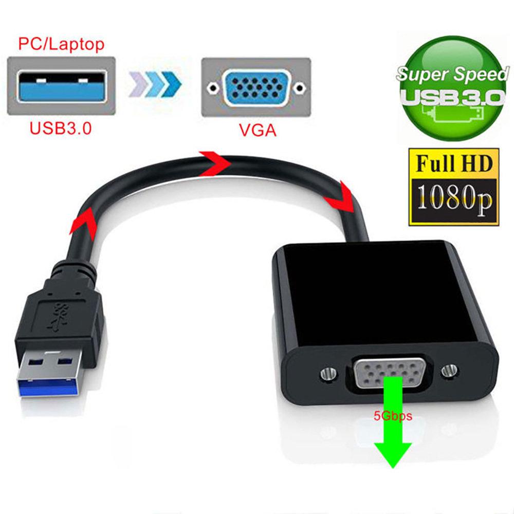 Adaptateur USB 3.0 vers VGA Femelle 11