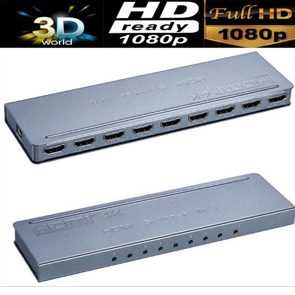 Mini adaptateur HDMI 4k 1X8 en métal-12