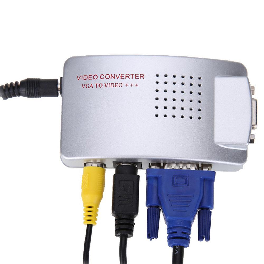 Convertisseur vidéo BNC vers VGA –VGA vers BNC-12