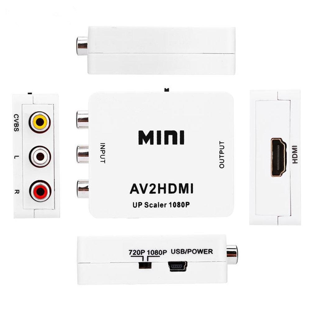 Mini convertisseur AV RCA vers HDMI-11