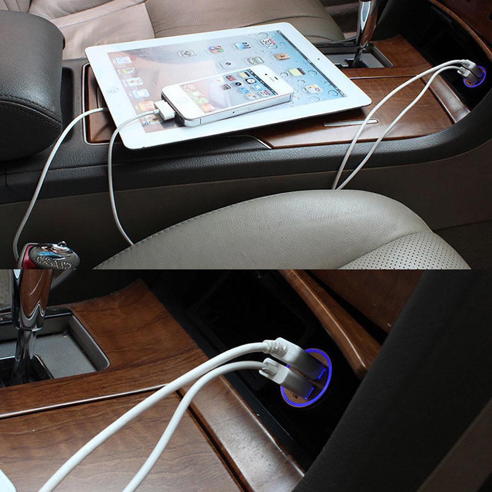 Chargeur double USB pour voiture-12