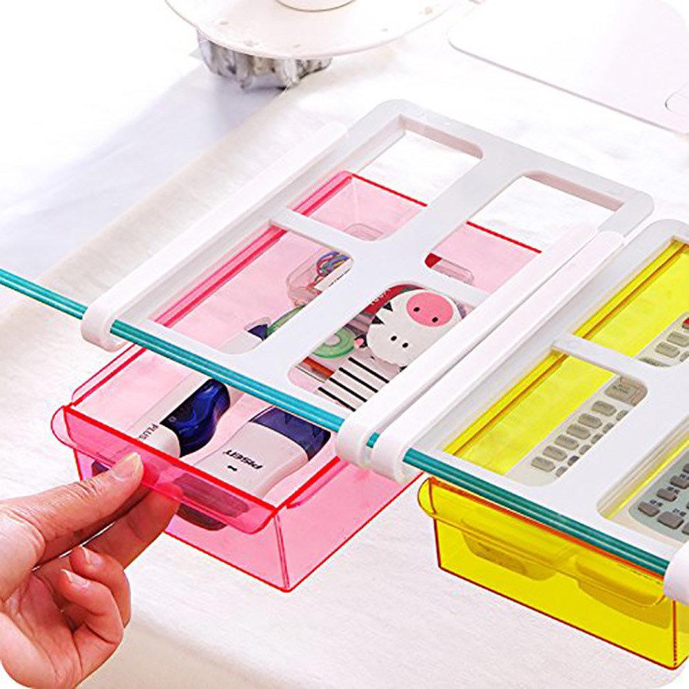 support de tiroir d'étagère de réfrigérateur -12