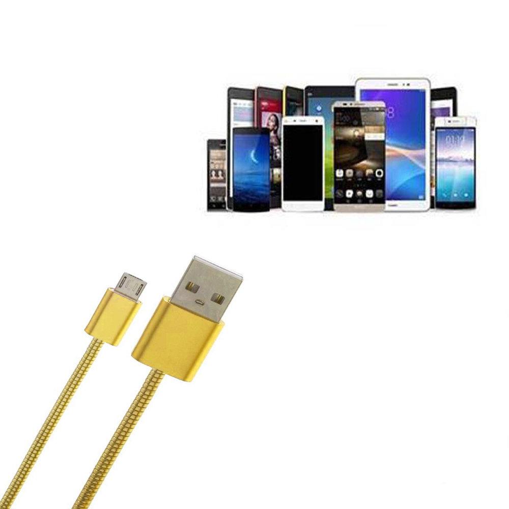 câble USB V8 métallique-11
