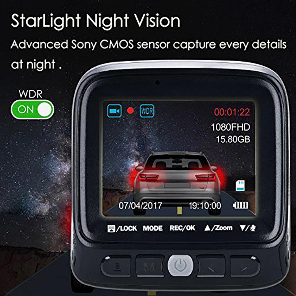 DashCam Caméra pour voiture-12