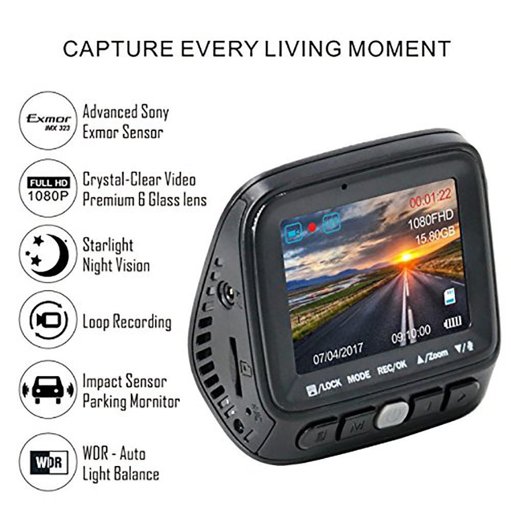 DashCam Caméra pour voiture-13