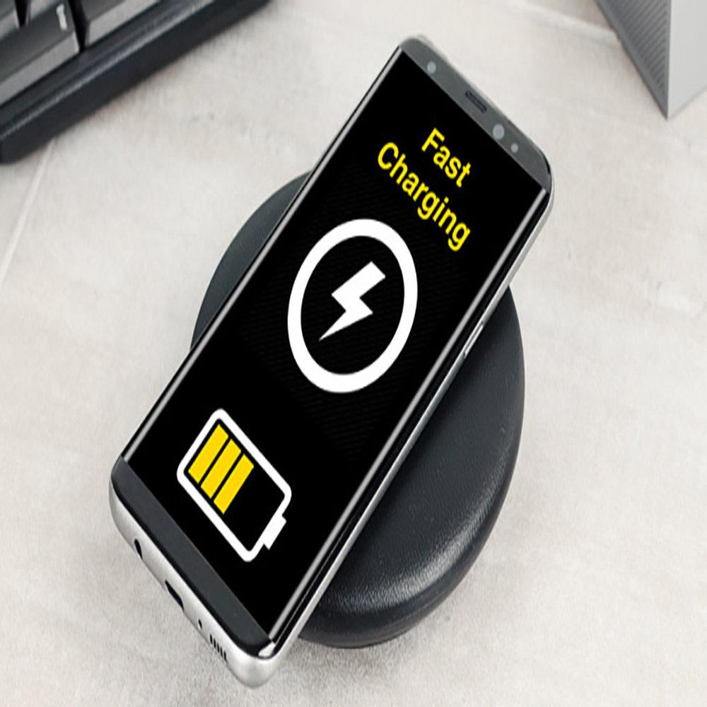 Chargeur sans fil pour smartphones Samsung & iPhone8 et iPhoneX-11
