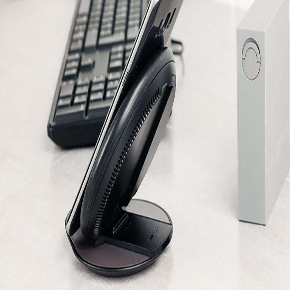 Chargeur sans fil pour smartphones Samsung & iPhone8 et iPhoneX-12
