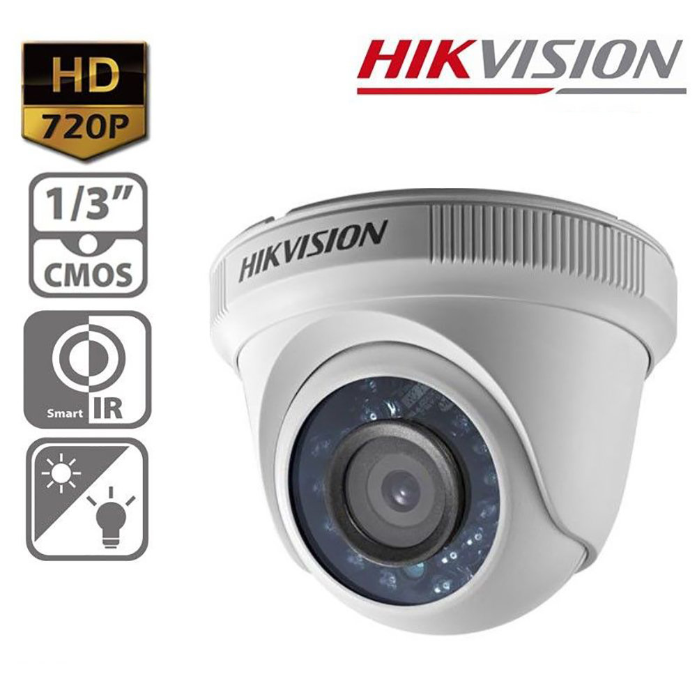 Camera de securite HikVision 1MP CMOS-12