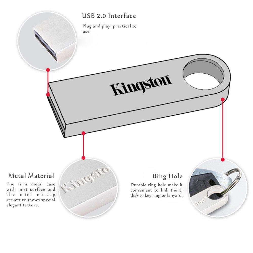 clé USB Kingston 16GB en métal-12