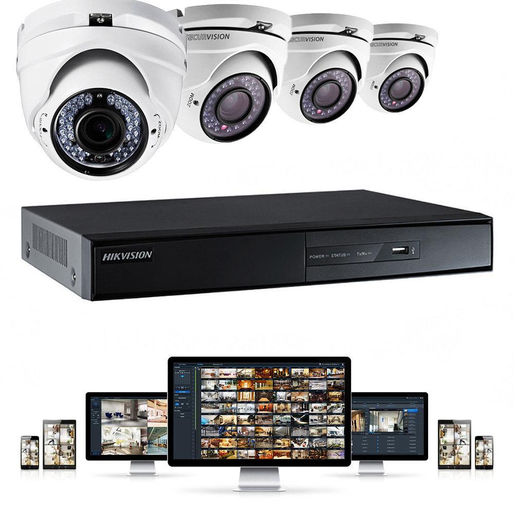 Enregistreur vidéo DVR HikVision 4 canaux-11