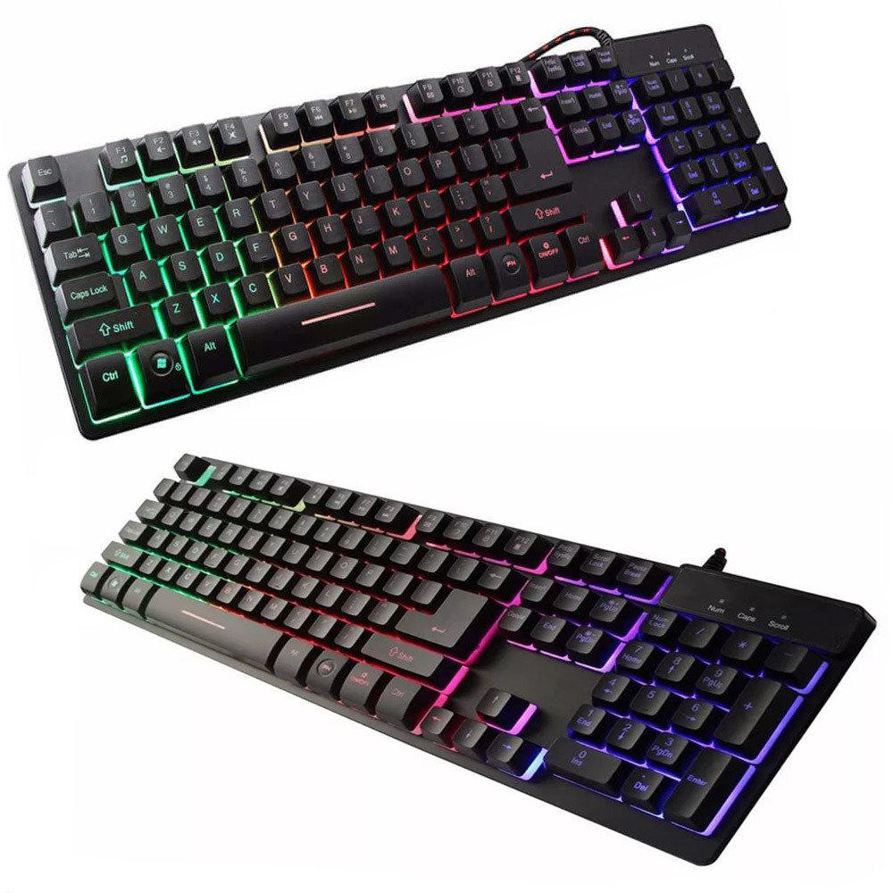 clavier Gamer Led Rétro-Éclairé ZYG-800-11