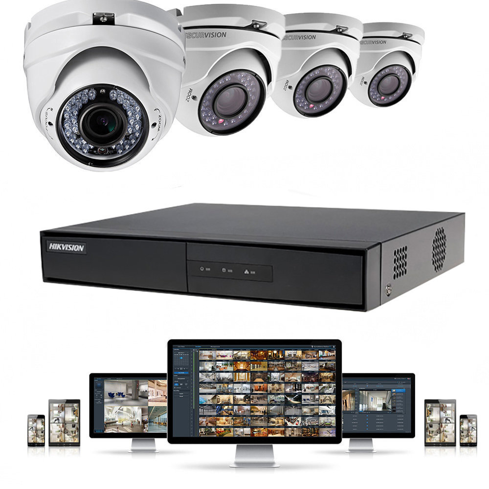 DVR HikVision DS-7200 Series pour 4 caméras de sécurité-11