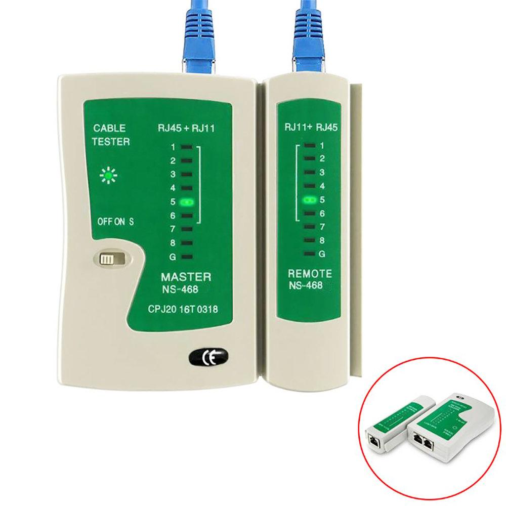 Testeur câbles réseau RJ45 et RJ11 Professionnel-11