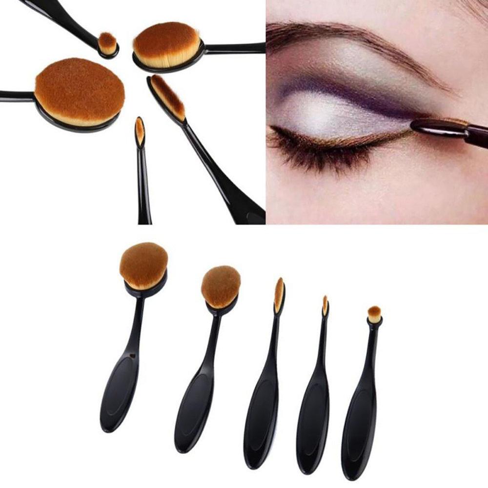 Kit de 5 pinceaux de maquillage Professionnel-11