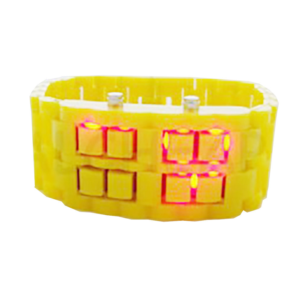Montre bracelet Samourai à affichage LED pour Femme-21