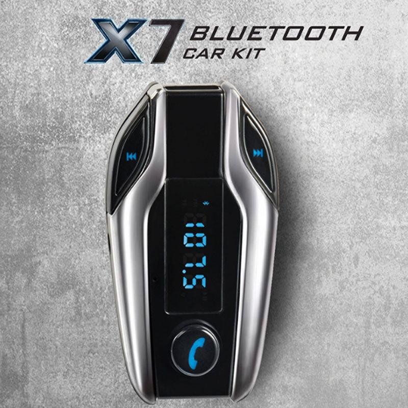 image X7 kit mains libres Bluetooth pour voiture multifonction