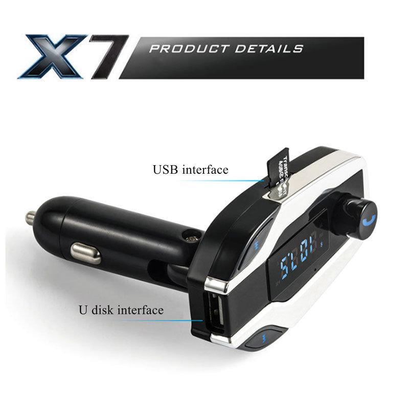 image X7 kit mains libres Bluetooth pour voiture multifonction 5