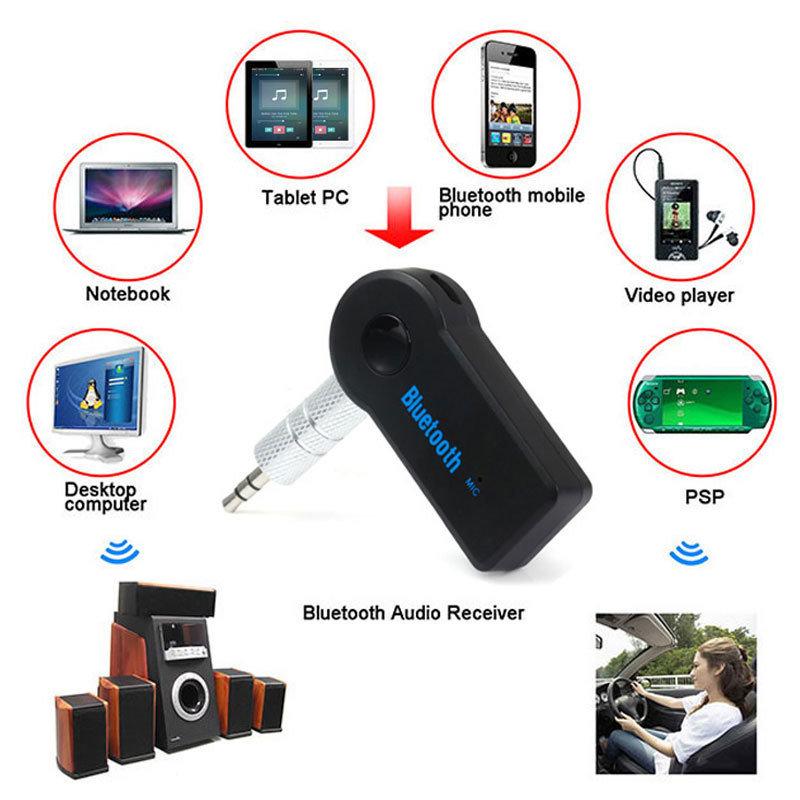accessoires voiture - Récepteur sans fil Bluetooth avec sortie jack 3.5 pour voiture