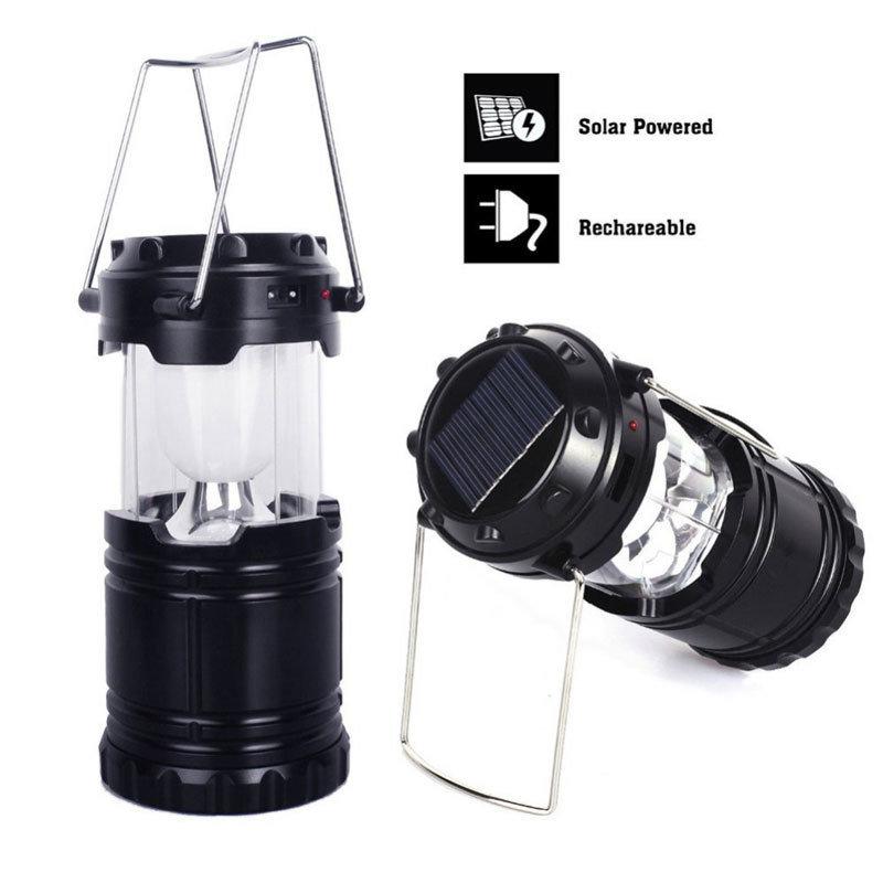 Lanterne solaire LED multifonction USB rechargeable 5