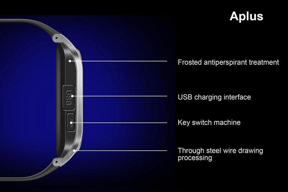 accessoires smartphone - Montre intelligente connectée & telephone - Smartwatch Aplus GV18 6