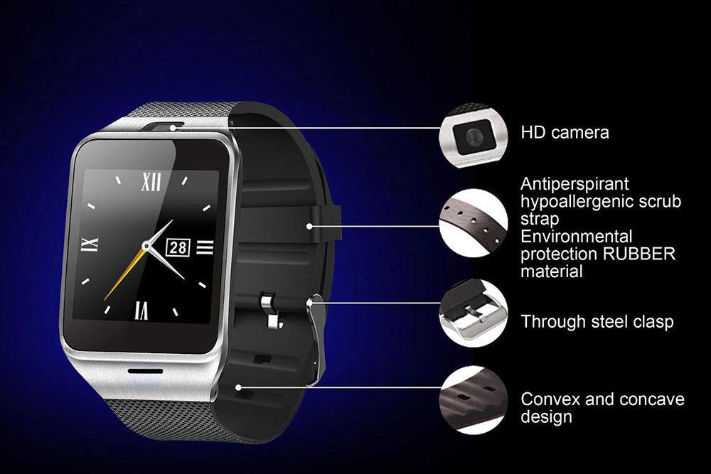 accessoires smartphone - Montre intelligente connectée & telephone - Smartwatch Aplus GV18 7