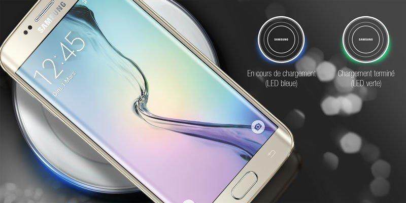 accessoire smartphone - Chargeur sans fil QI Station Samsung - blanc - 11