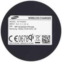 Accessoires-smartphone-Chargeur sans fil QI Station Samsung - blanc - 5