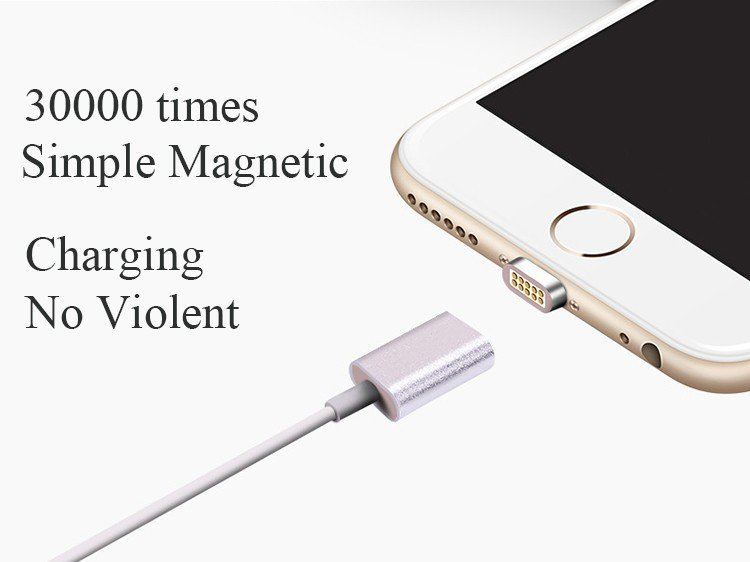accessoire iphone - Câble Lightning magnétique pour iPhone - 13
