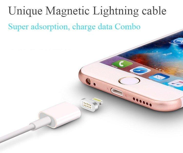 accessoire iphone - Câble Lightning magnétique pour iPhone - 14