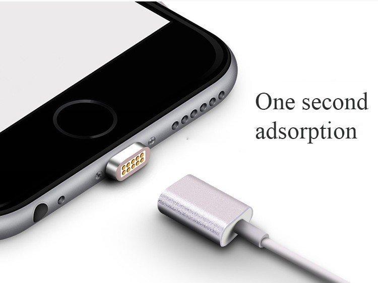 accessoire iphone - Câble Lightning magnétique pour iPhone - 15