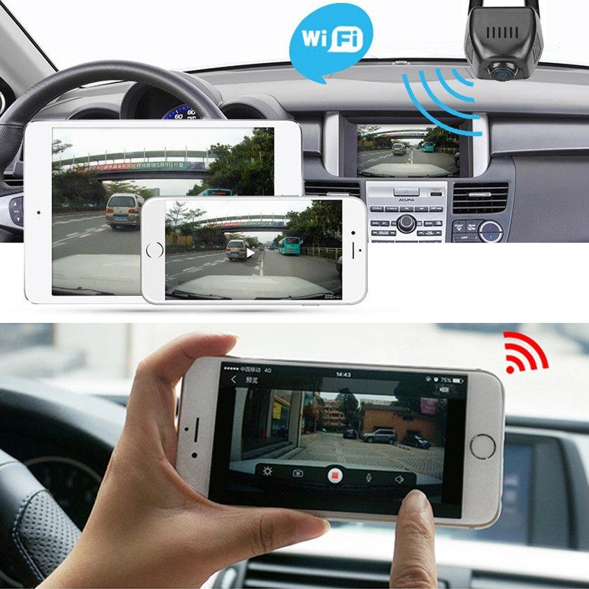 Caméra embarquée Dashcam WIFI HD 1080p application mobile - accessoire voiture - 11