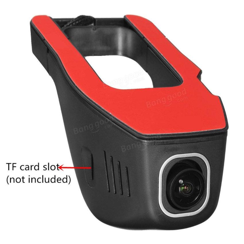 Caméra embarquée Dashcam WIFI HD 1080p application mobile - accessoire voiture - 14