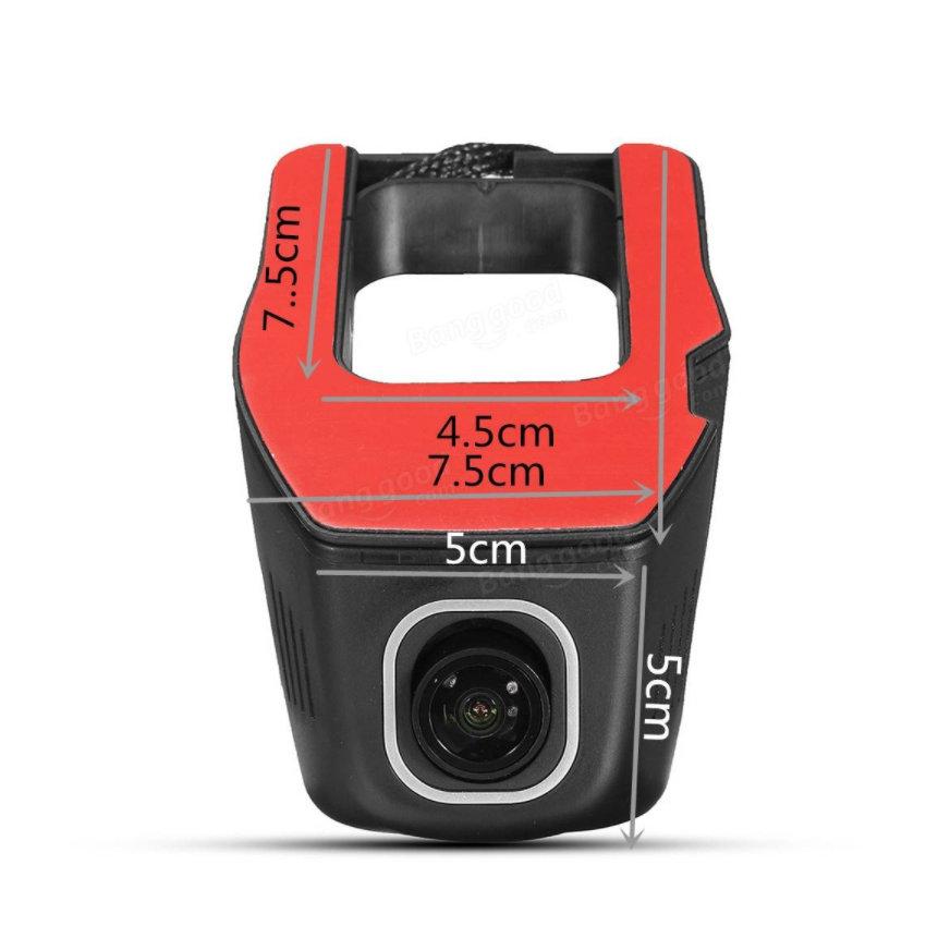 Caméra embarquée Dashcam WIFI HD 1080p application mobile - accessoire voiture - 16