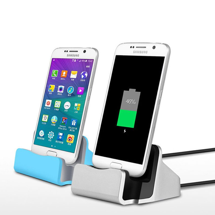 Station d'accueil et chargeur pour smartphone Android - USB type-B - 12