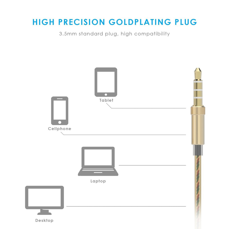 Ecouteur UiiSii US80 - Gold - accessoires-smartphones - 4