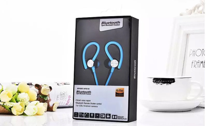 accessoires smartphone - Ecouteur Bluetooth avec microphone Sport OTE10 5