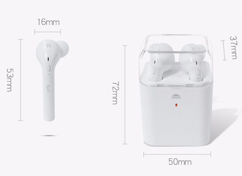 accessoires smartphone - earbuds ecouteur oreillette bluetooth iphone android 8