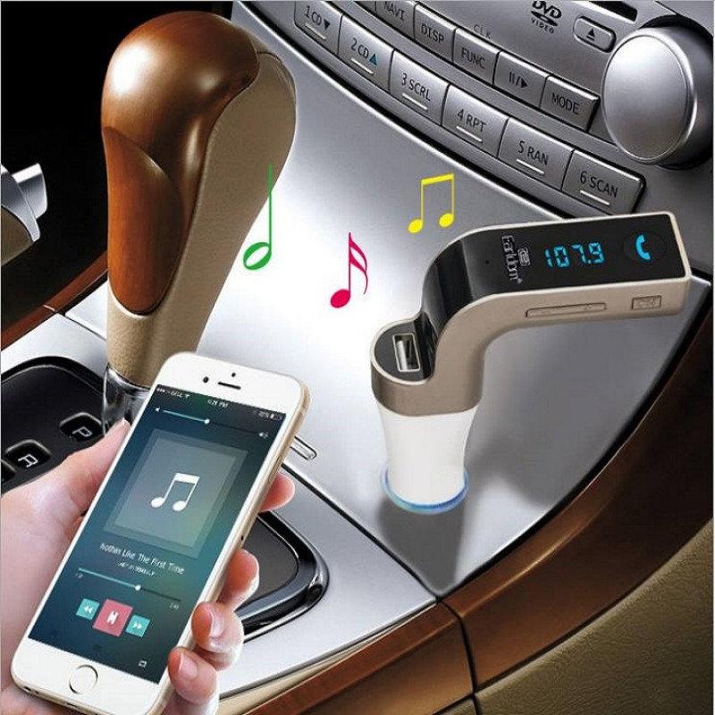accessoire voiture - Kit main-libres Bluetooth, Mp3 et chargeur pour voiture EARLDOM original 11