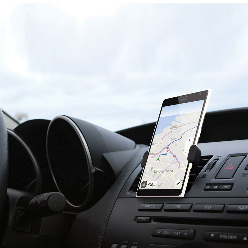 accessoires voiture - Support smartphone pour ventilateur de voiture 11