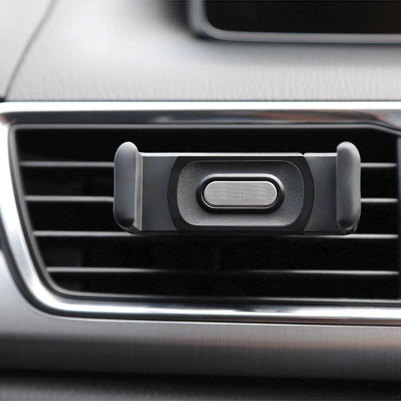 accessoires voiture - Support smartphone pour ventilateur de voiture 12
