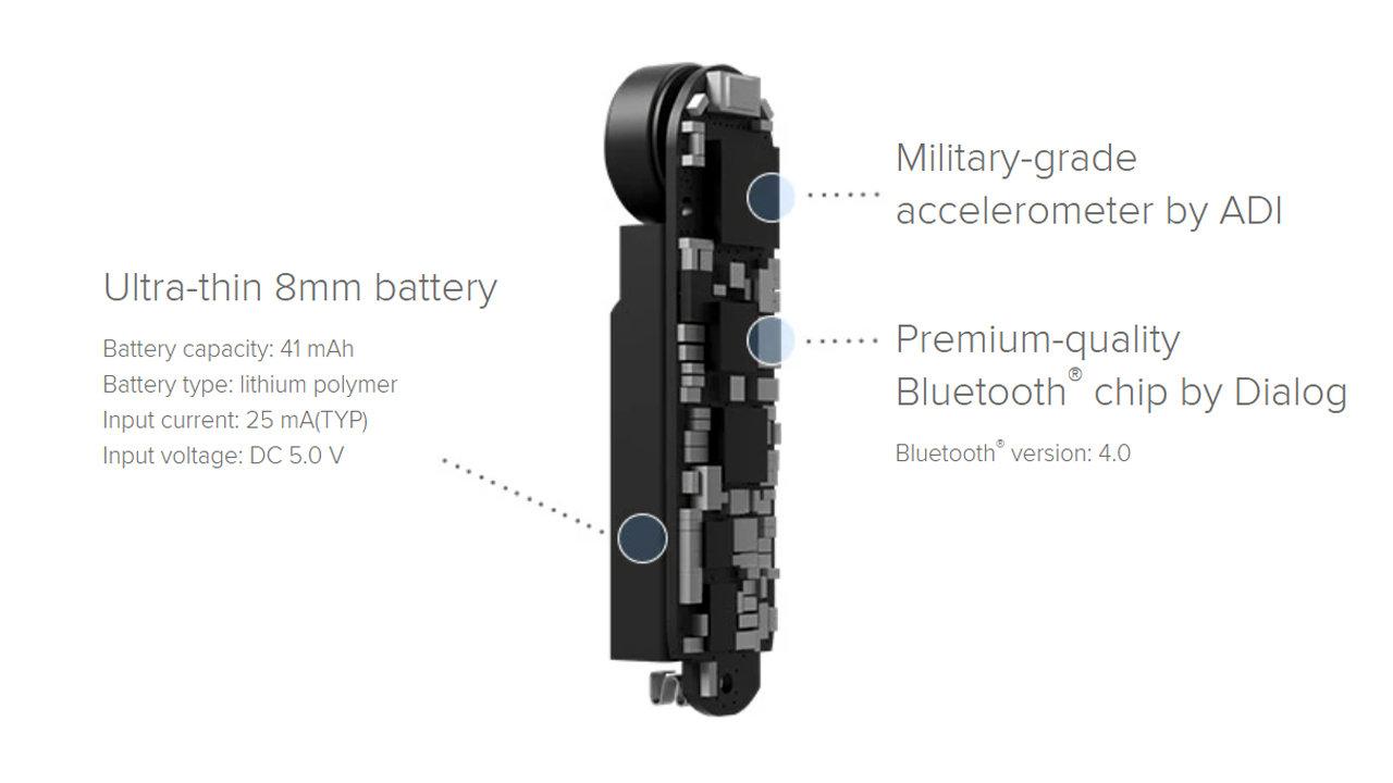 accessoire smartphone - bracelet bluetooth Xiaomi Mi Band 17