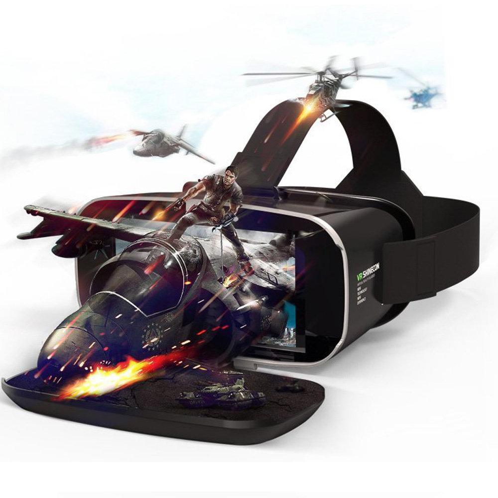 VR Shinecon G02C casque de réalité virtuelle compatible avec Google Cardboard 13